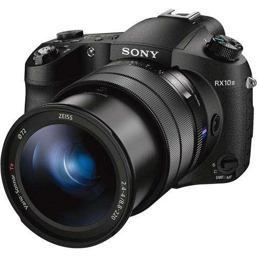 Cámara Sony Rx10 Iii, 20.1mpx, 4k, Lente 24 600mm.