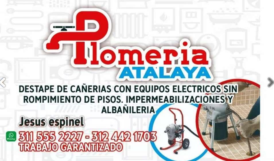 Plomeria atalaya 3203921537