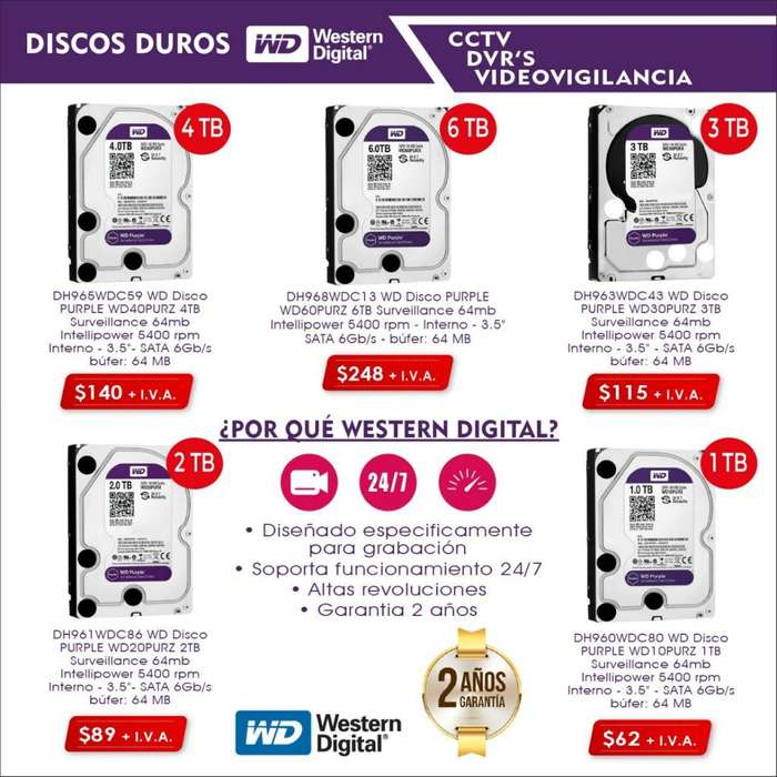 Discos duros purple-discos duro hitachi- 2tb.3tb.4tb