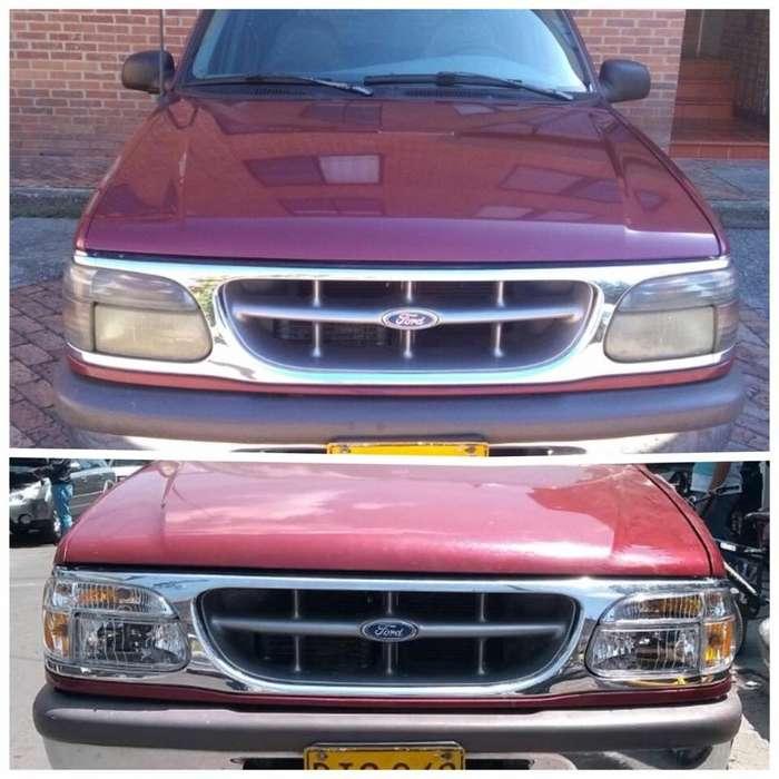 Farolas Ford Explorer 95-01 Luz Led/ Pago Contraentrega