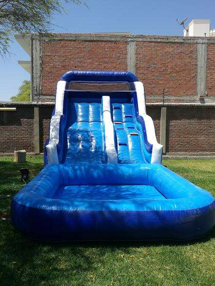 Se vende Juego inflable de agua, water slide