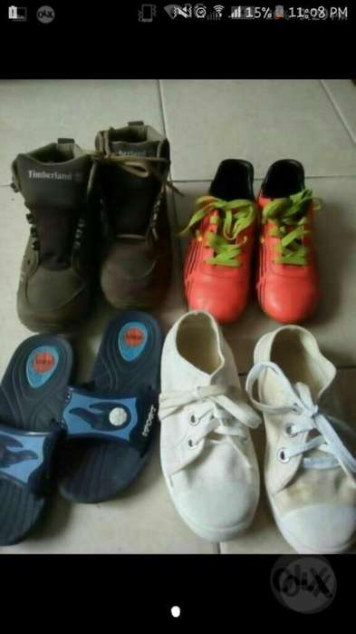 Zapatos Niño Talla 31 Y 32 Todos por 24