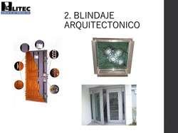 BLINDAJE ARQUITECTÓNICO Puertas de Seguridad, Puertas Blindadas, Ventanas Blindadas, Fachadas. GARANTÍA DE POR VIDA