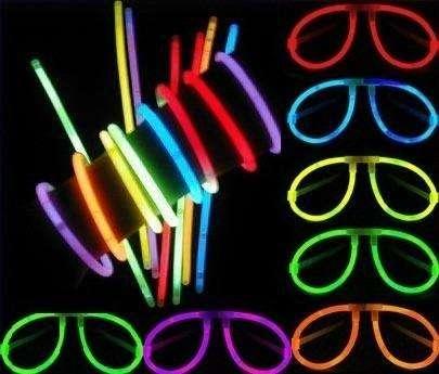 Pulseras Glow Stick O Neón Para Fiestas Fosforecentes