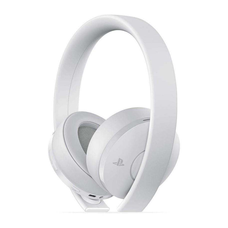 AURICULAR ORIGINAL SONY PS3 PS4 BLUETOOTH GOLD WIRELESS STEREO HEADSET BLANCO