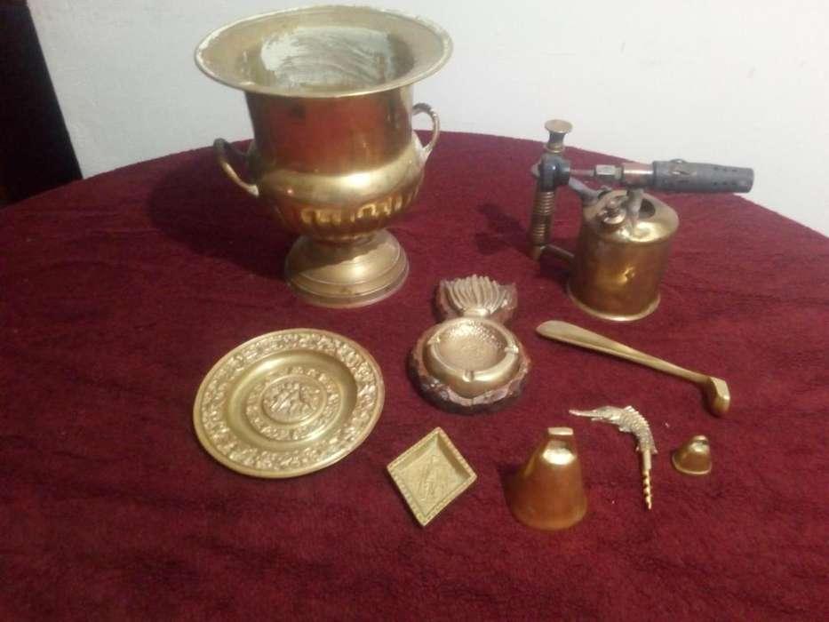 Lote de antigüedades de Bronce ofertaa
