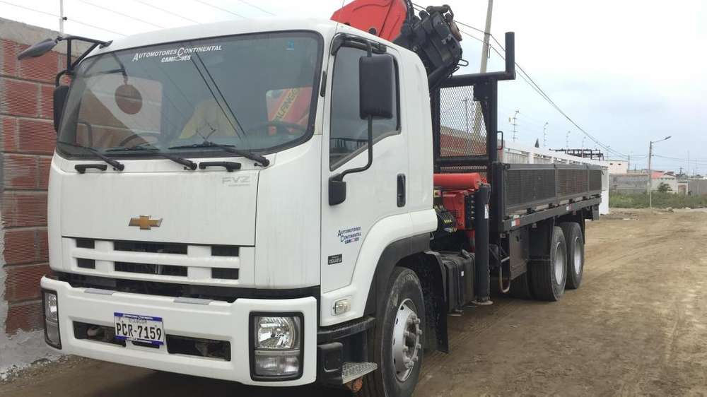 camion con brazo grua modelo FVZ capacidad 18.8 TN