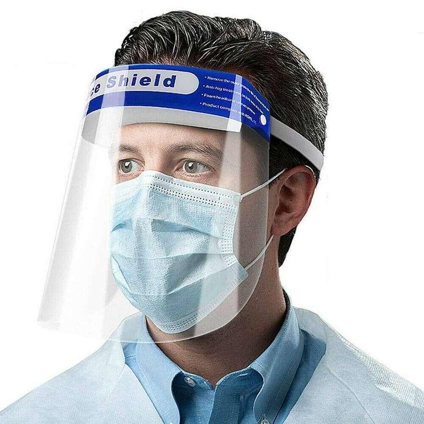 Escudo Protector Facial Rostro PROFESIONAL Face Shield evita ...