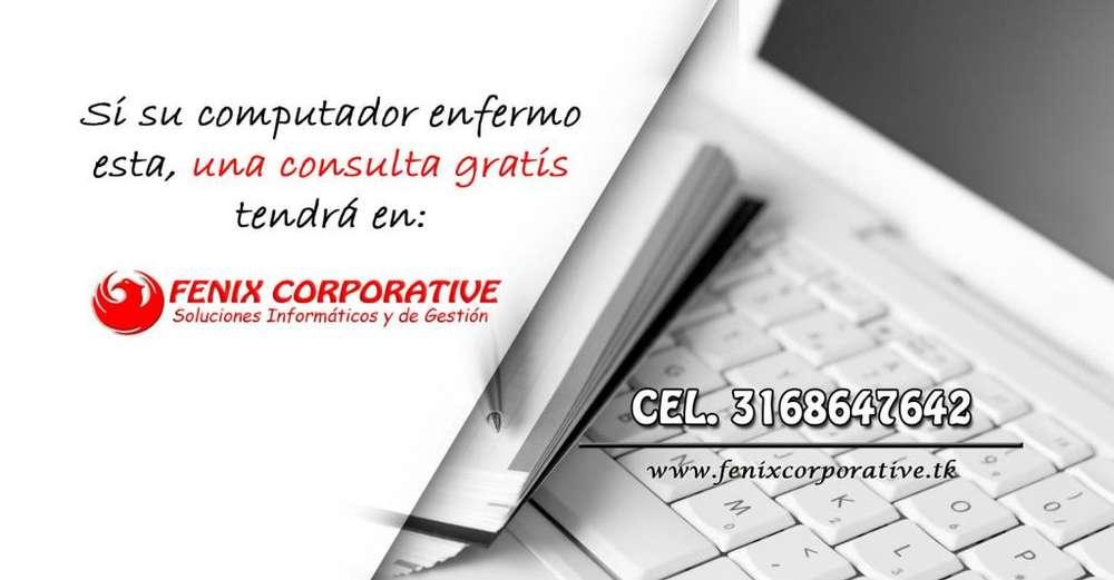 MANTENIMIENTO REPARACION FORMATEO ACTUALIZACION DE COMPUTADORES PORTATILES TABLES REVISION GRATIS