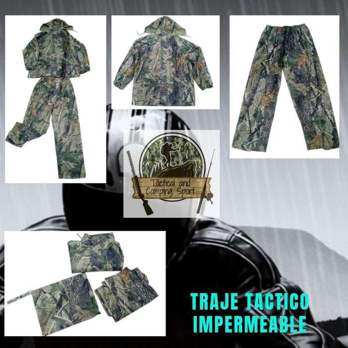 Traje Tactico Impermeable