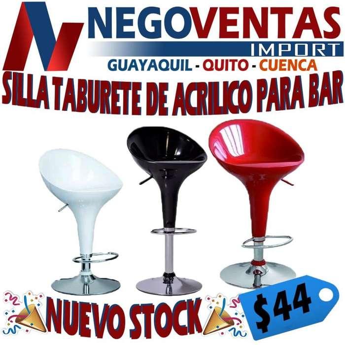 <strong>silla</strong> TABURETE DE MATERIAL ACRÍLICO PARA BAR COLOR BLANCO NEGRO Y ROJO