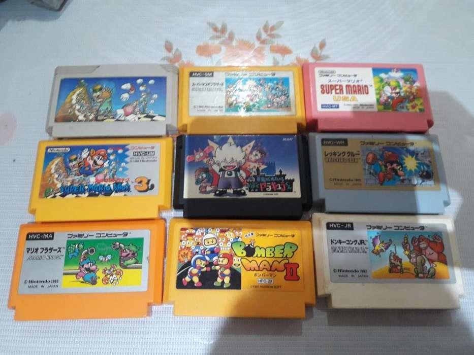 Juegos Famicom Originales
