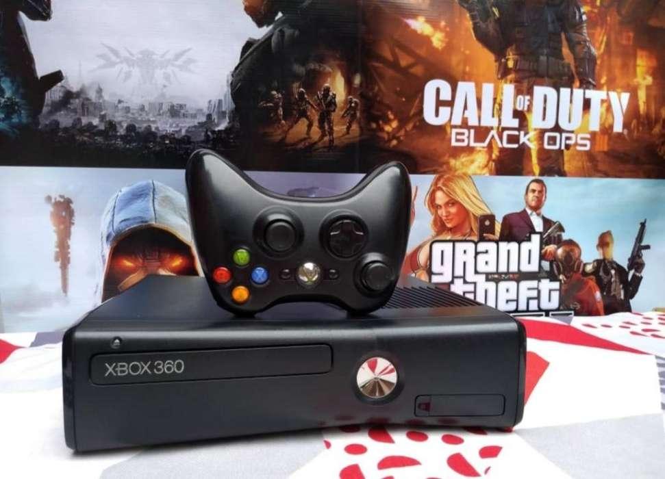 Vendo Xbox 360 Slim Chipiado Al 5.0 Leer