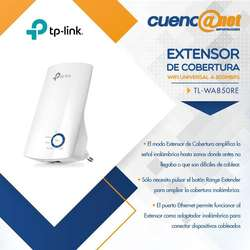Tplink Tlwa850re 300mbps W. Wall Plugged Ranger Extender