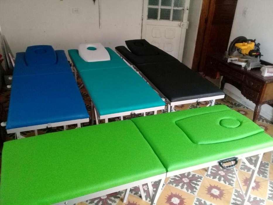 Camillaa fijas y portatiles