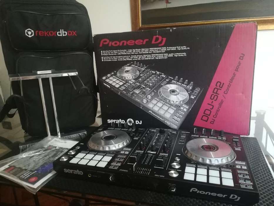 Kit Dj Pro - Pioneer Sr2 -maleta-base Pc