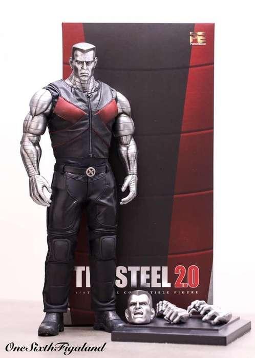 Figura Toys Era - The Steel 2.0 (colossus). Tamaño 37cms