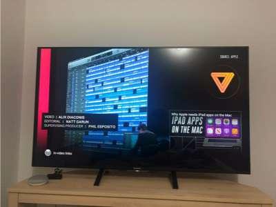 Vendo TV Sony 4k 3D 55