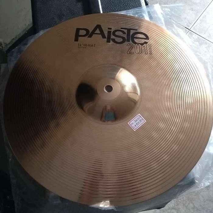 Platillos Paiste Hi-Hat 14