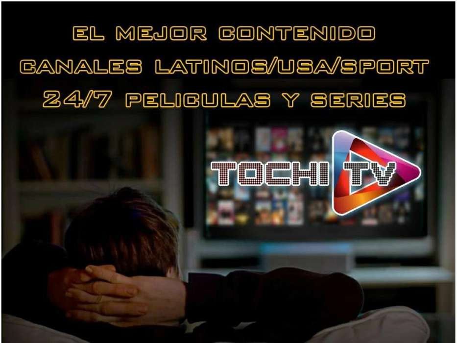 Tochitv: Televisión Hd por Internet
