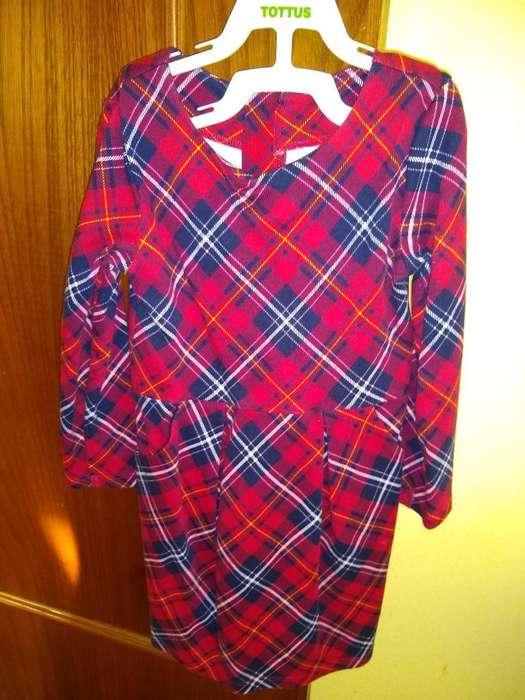 Vestido H Y M Talla 2-4 Años