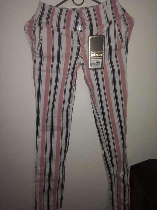 Vendo Pantalón Talla 10 Elástico