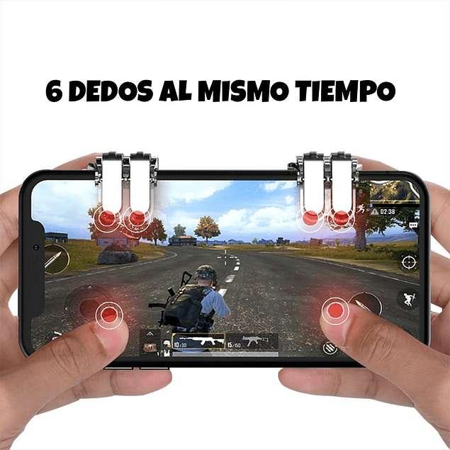 Gatillos PUBG Free Fire L1 L2/ R1 R2 Telefono; Android IPhone