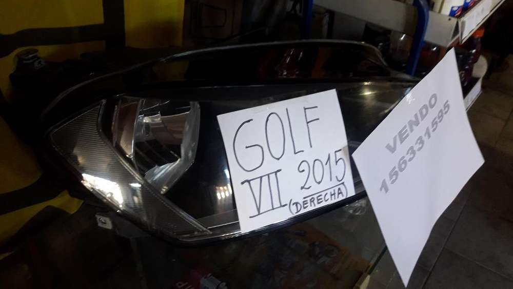 Vendo Optica Derecha Golf 2015/16/17/18/