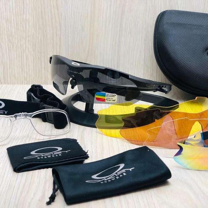 Gafas Oakley con Lentes Intercambiables
