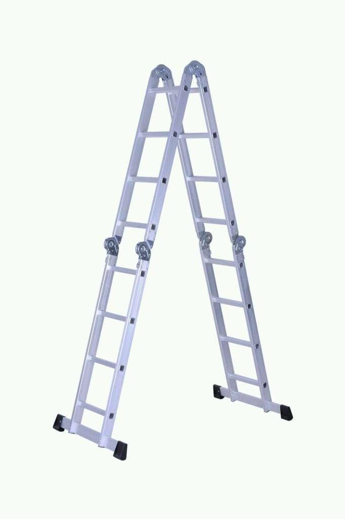 Escalera Aluminio Plegable Multifunción