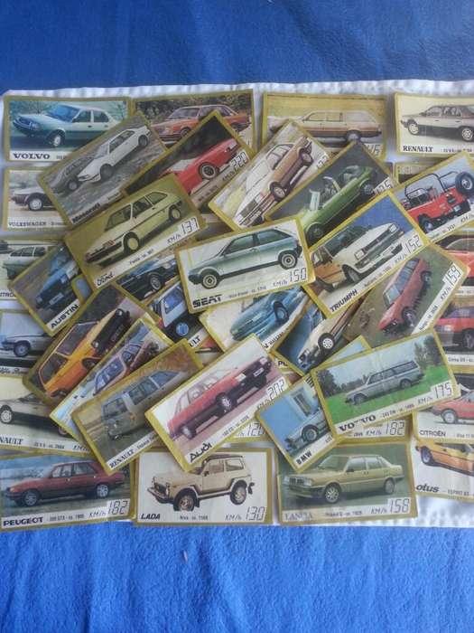 Figuritas Golden Cars Decada 80