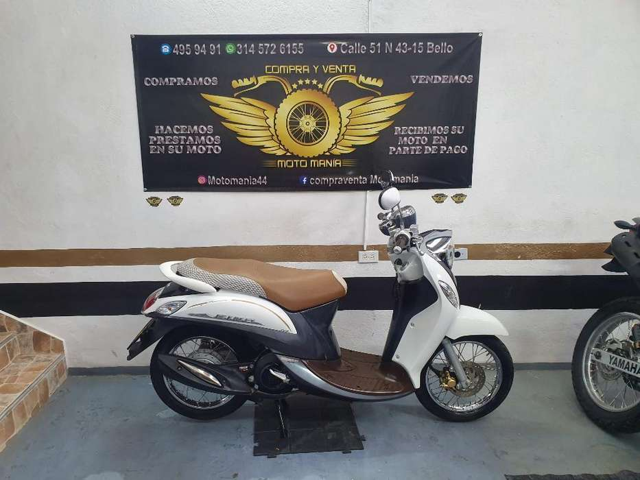 Yamaha Fino 115 2015 Traspaso Incluido