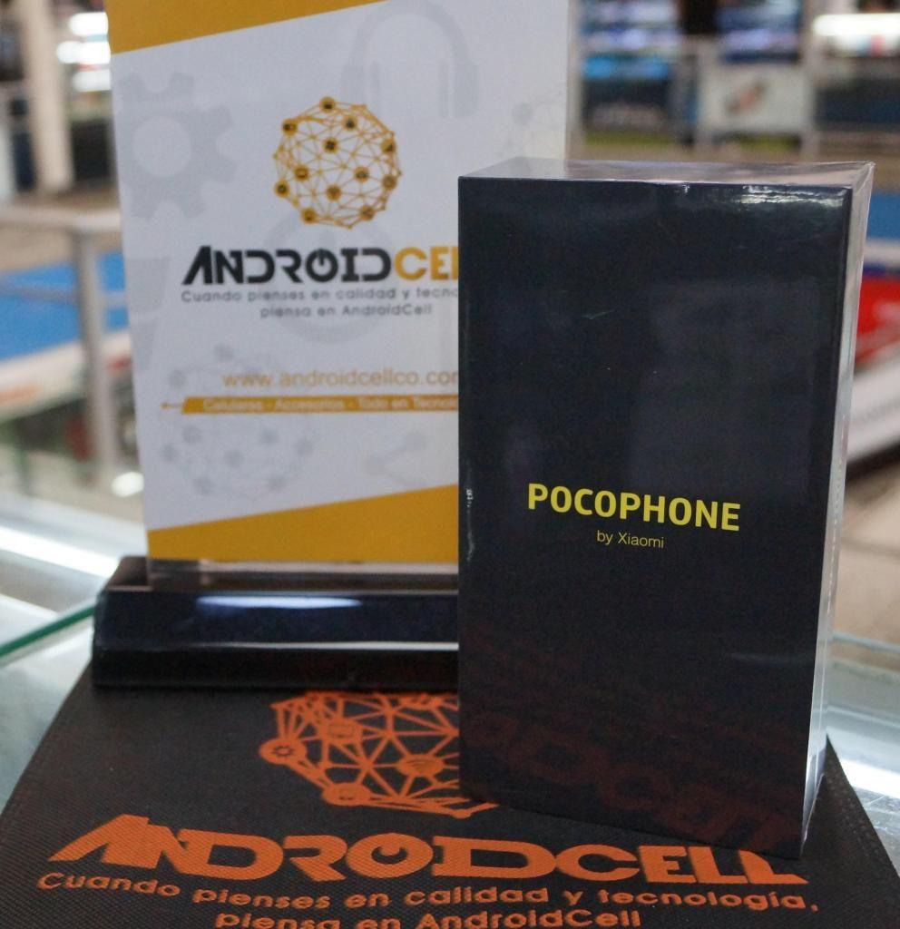 Xiaomi Pocophone F1 64GB - Nuevo, libre y garantizado-Domicilio sin costo en Bogotá.