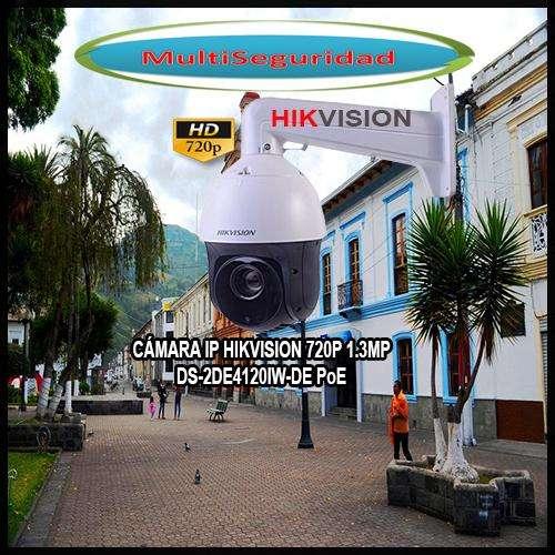 PTZ IP HIKVISION TURBO HD 720P DS2DE4120IWDE 1MP 100M PoE