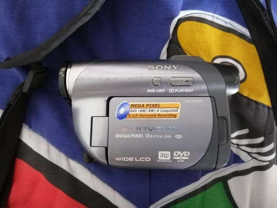 Cámara Sony Handycam Dcr_dvd305