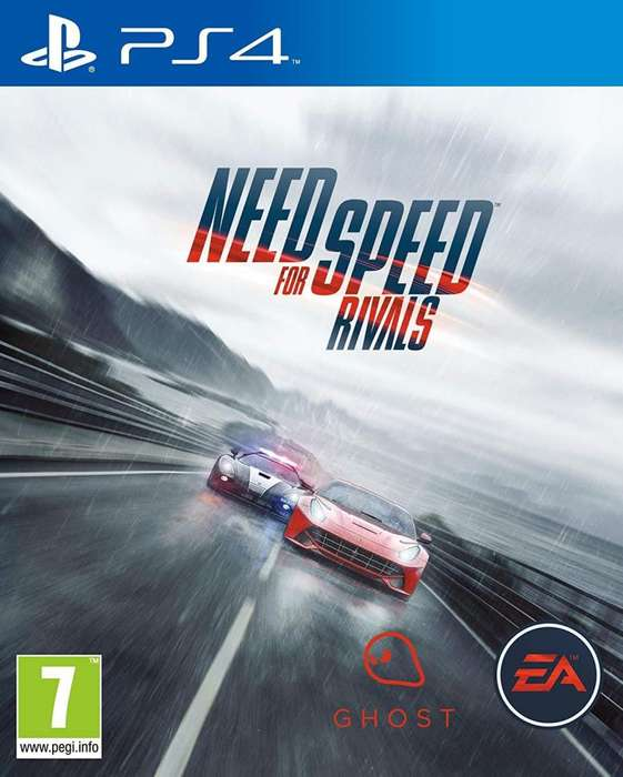 Need for Speed Rivals PS4 Fisico Usado