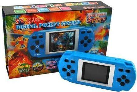 Consola Pocket Sy890a Game Start 300 Juegos 2.2 Big Screen