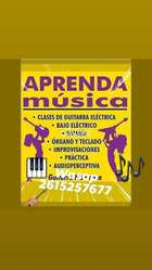 Clases Guitarra bajo Organo Piano