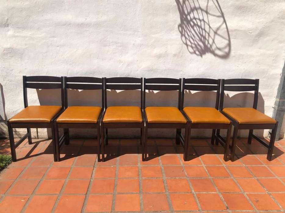<strong>silla</strong>s de Guatambu Tapizado Ecocuero