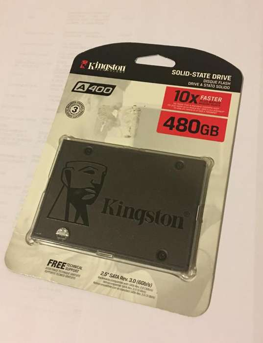 Vendo disco duro slido de 500gb Kingston