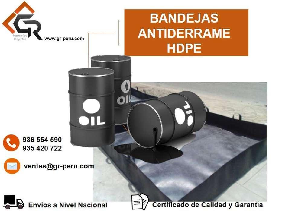 FABRICACION DE BANDEJA ANTIDERRAME, BIODIGESTOR DE GEOMEMBRANA HDPE , POLILOCK,SOLDADURA CEL: 936554590