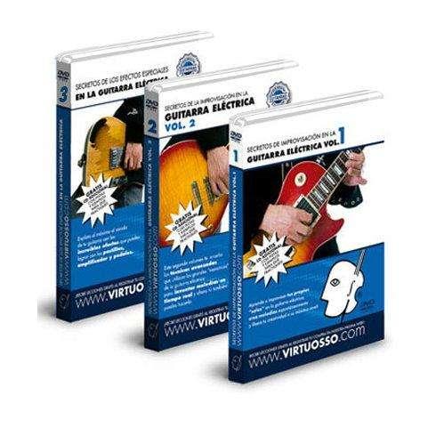 Curso de Improvisacion en la Guitarra Electrica en DVD