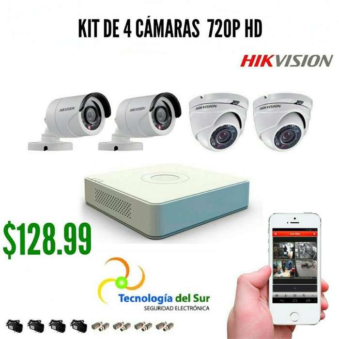Cámaras de Seguridad Hikvision Vide porteros Control de Asistencia y Acceso Alarmas Cercos Electricos