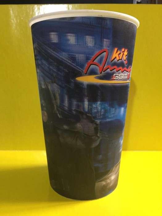 Vaso Publicitario Batman Dark Night 3d Comcel Usado