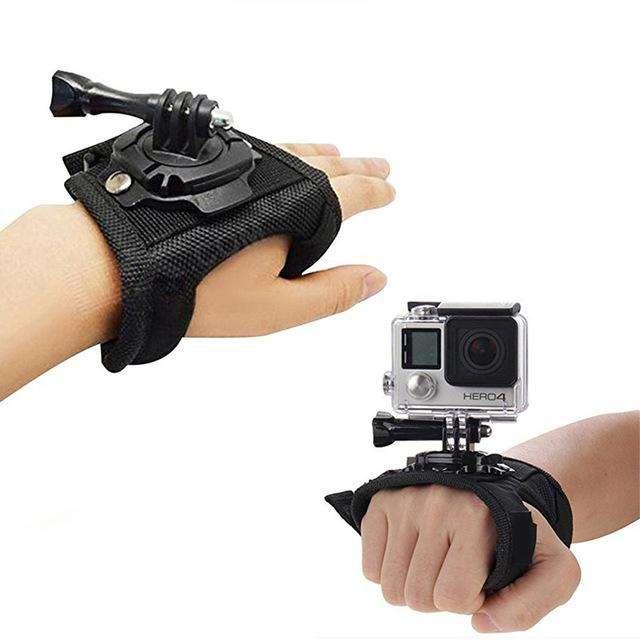 Guante GoPro 360 muñequera para cámara de acción. <strong>accesorios</strong> gopro Medellin Colombia