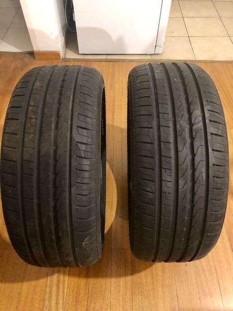 Par de Cubiertas perfil bajo Pirelli p7 205 45 17 nuevas sin uso!!!!! <strong>llanta</strong>s 17