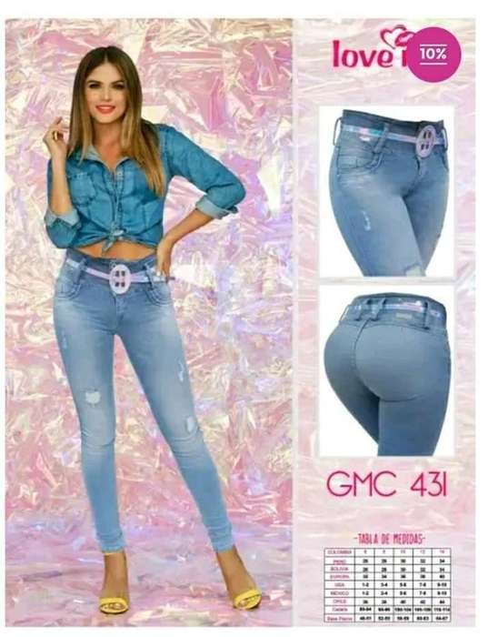Love Me Jeans 100% Colombianos
