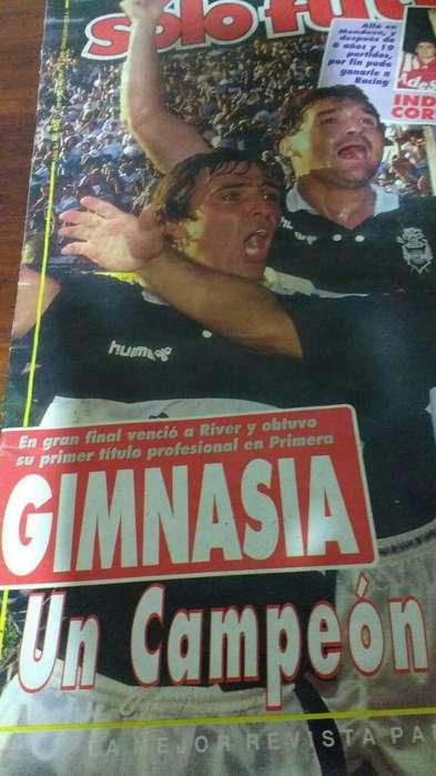 Revista Primera Ves Que Sale Campeon Gim
