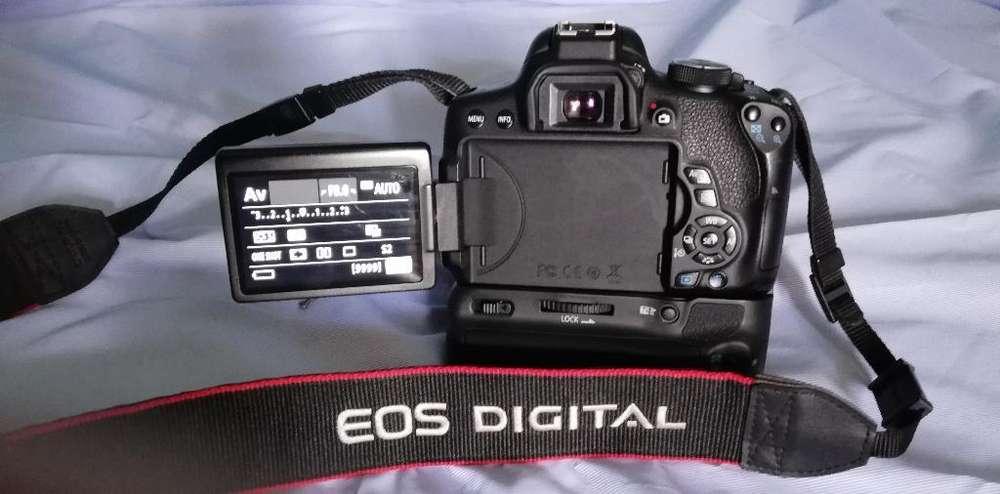 Oferta, Canon Eos 750d Extras Prof.