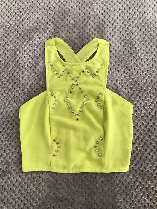 <strong>camisa</strong> Crop Neon